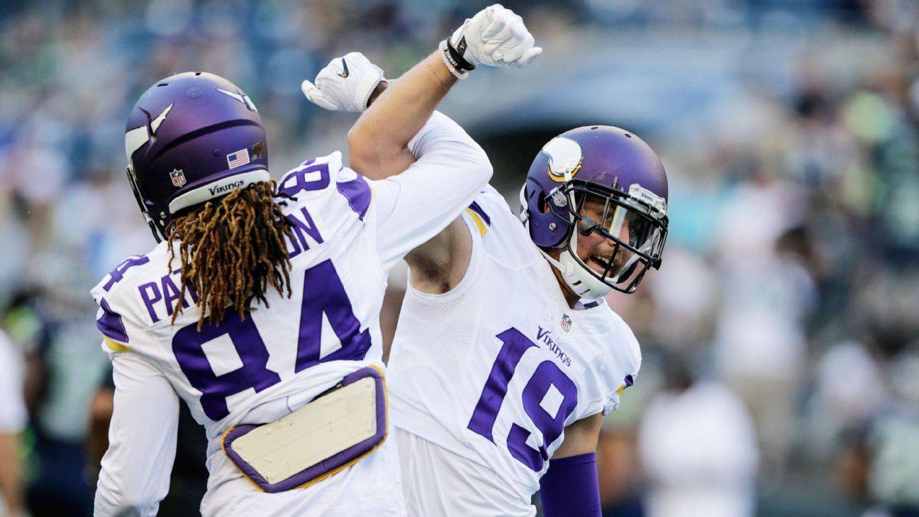 finest selection 5a045 6cbd2 Cordarrelle Patterson: Adam Thielen my 'brother from another ...