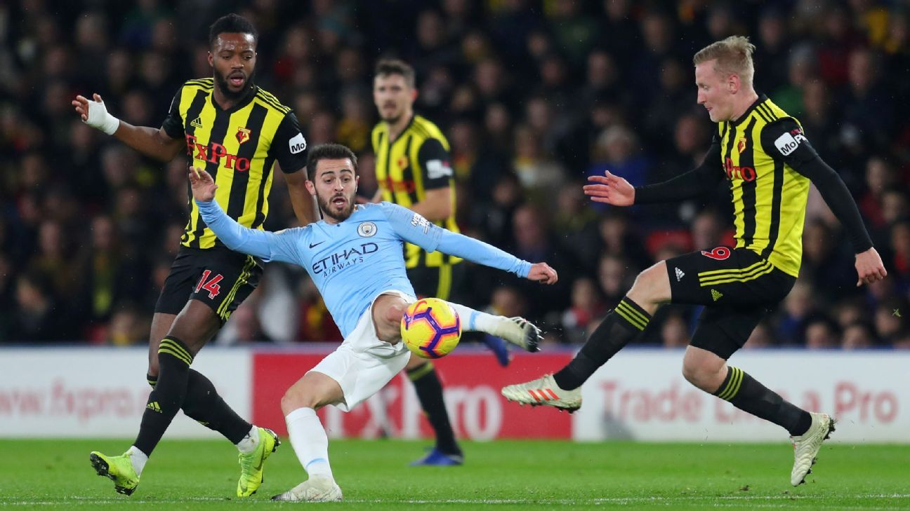 Will Man City's treble hopes be dashed by Watford in FA Cup final?