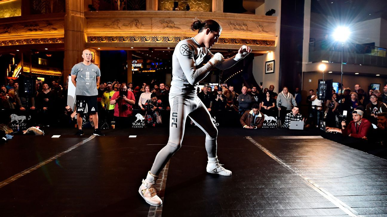 Singer told Vegas cops UFC's Ortega slapped him