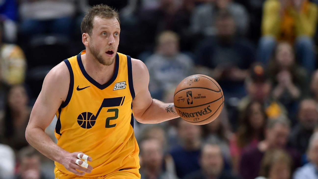 Jazz forward Joe Ingles agrees to 1-year extension worth $14M