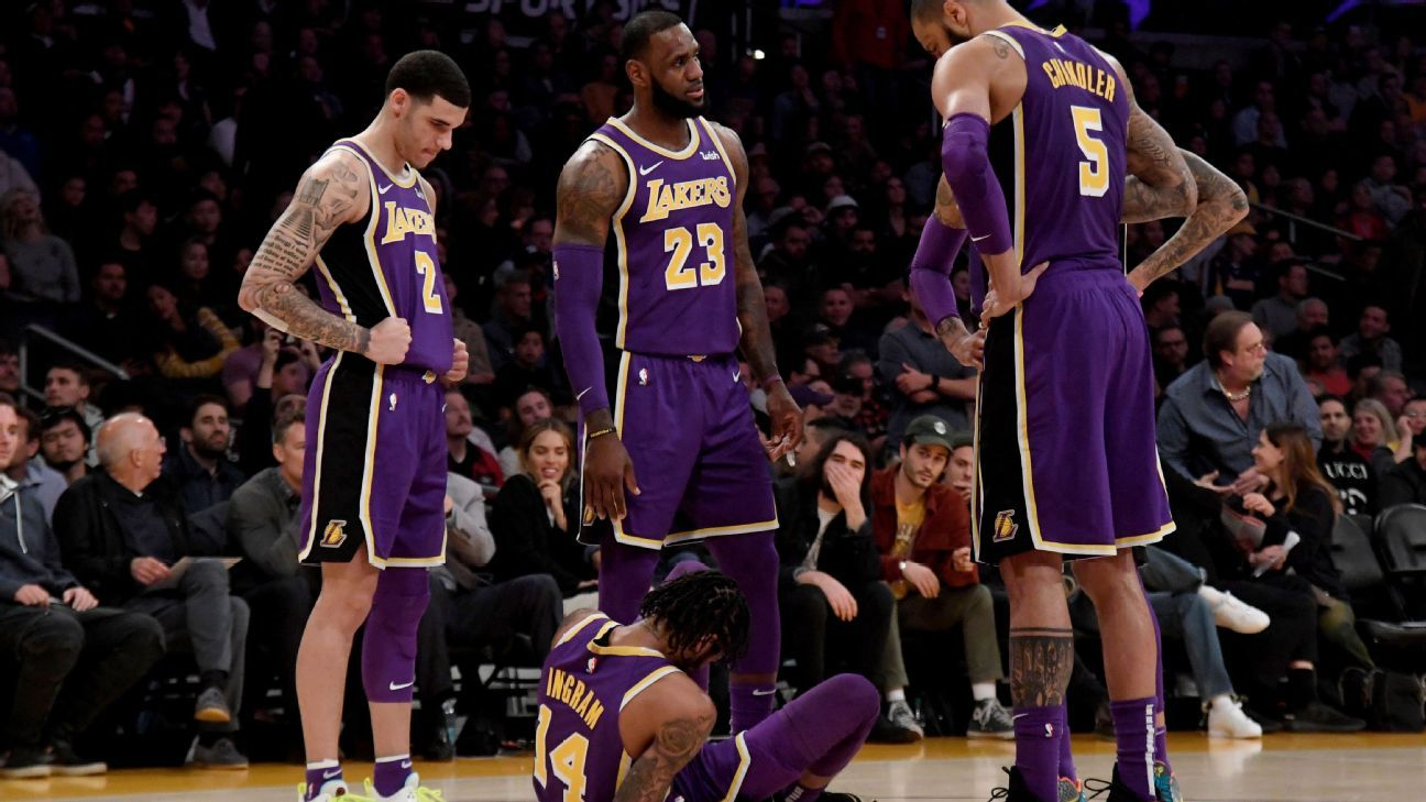 Brandon Ingram of Los Angeles Lakers hurts ankle 5ef62a28e