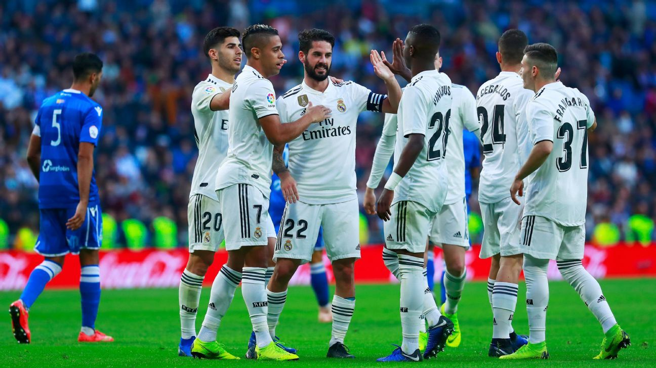 Image result for Solari praises out of favour Isco after Copa del Rey double