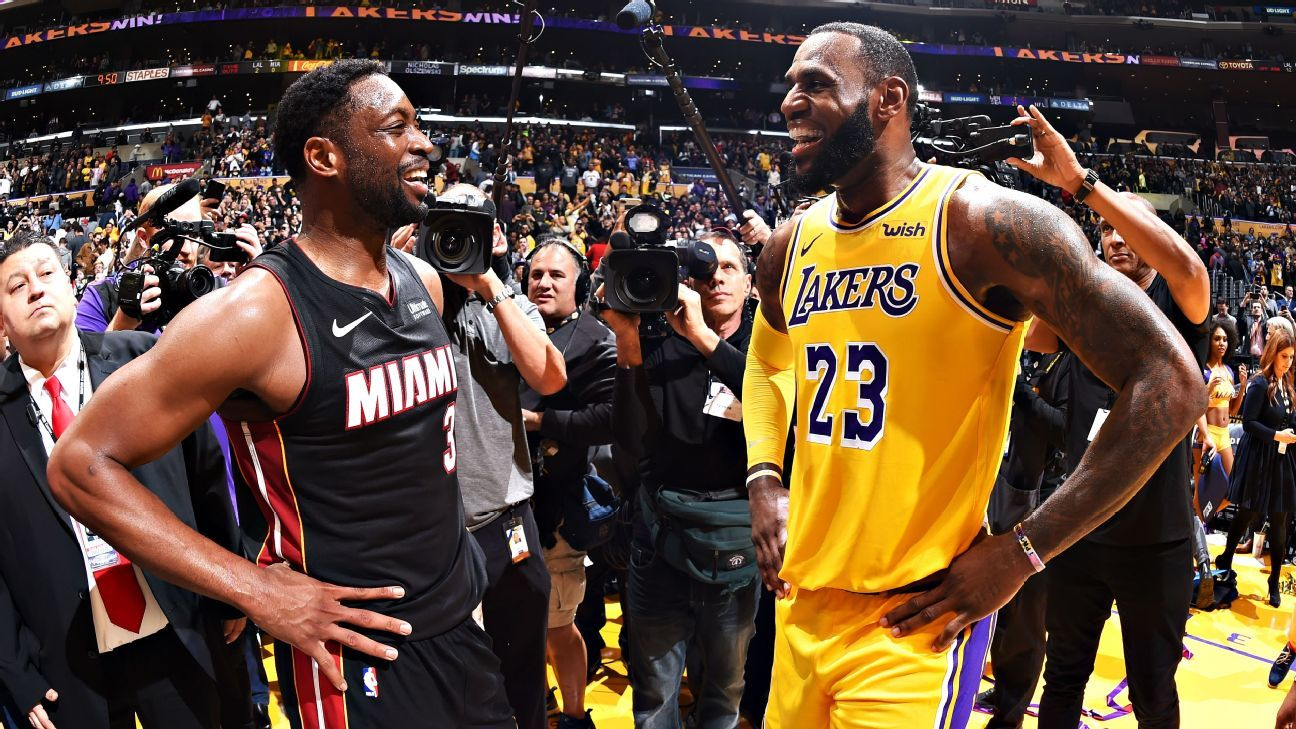 db26a7ace38 Dwyane Wade of Miami Heat -- LeBron James had my number on play at end