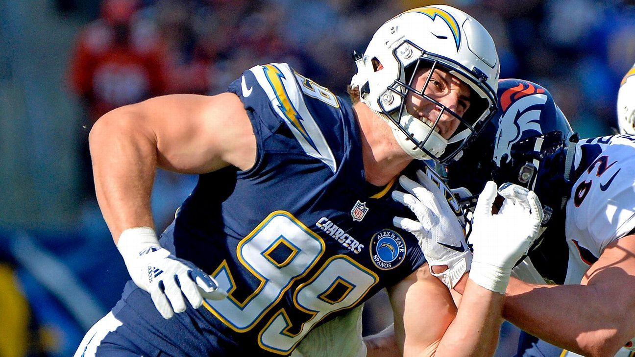 b10fe65859e Can a healthy Joey Bosa put Los Angeles Chargers atop the AFC? - Los  Angeles Chargers Blog- ESPN