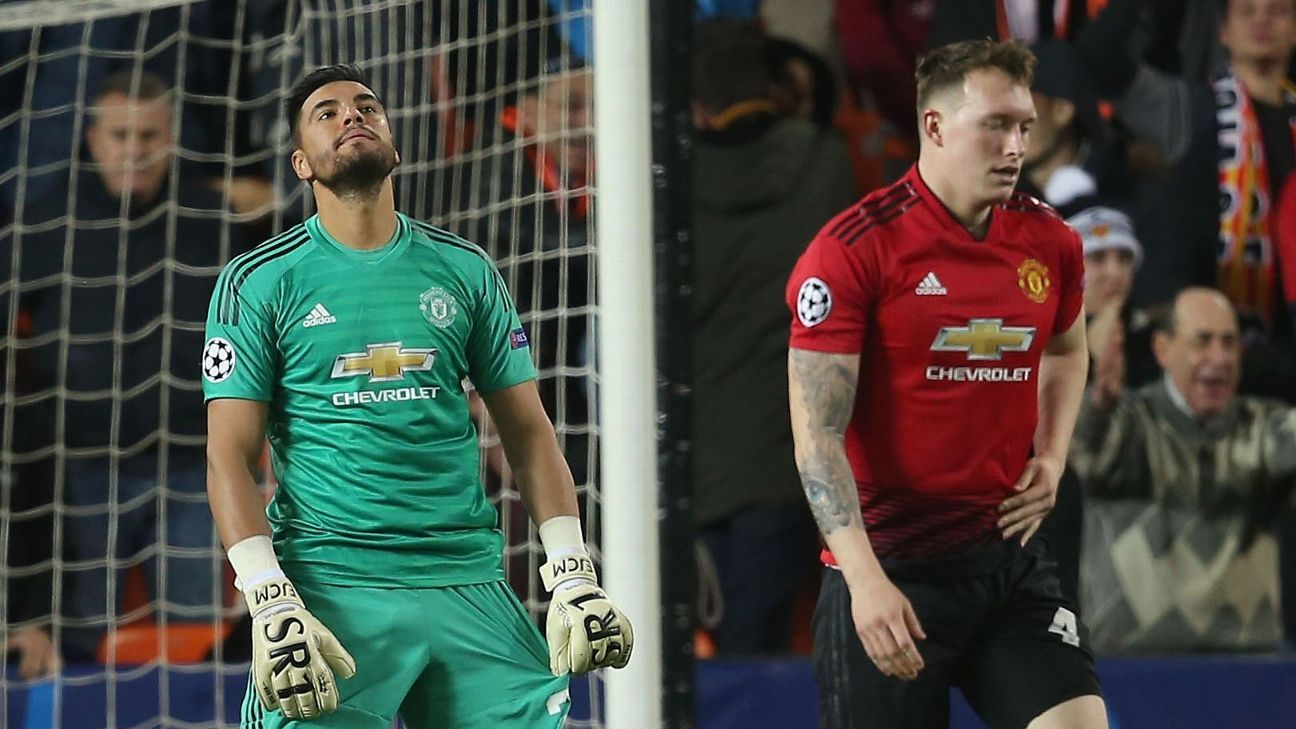 Fred, Phil Jones fall flat as Man United squander opportunity to win Group  H at Valencia