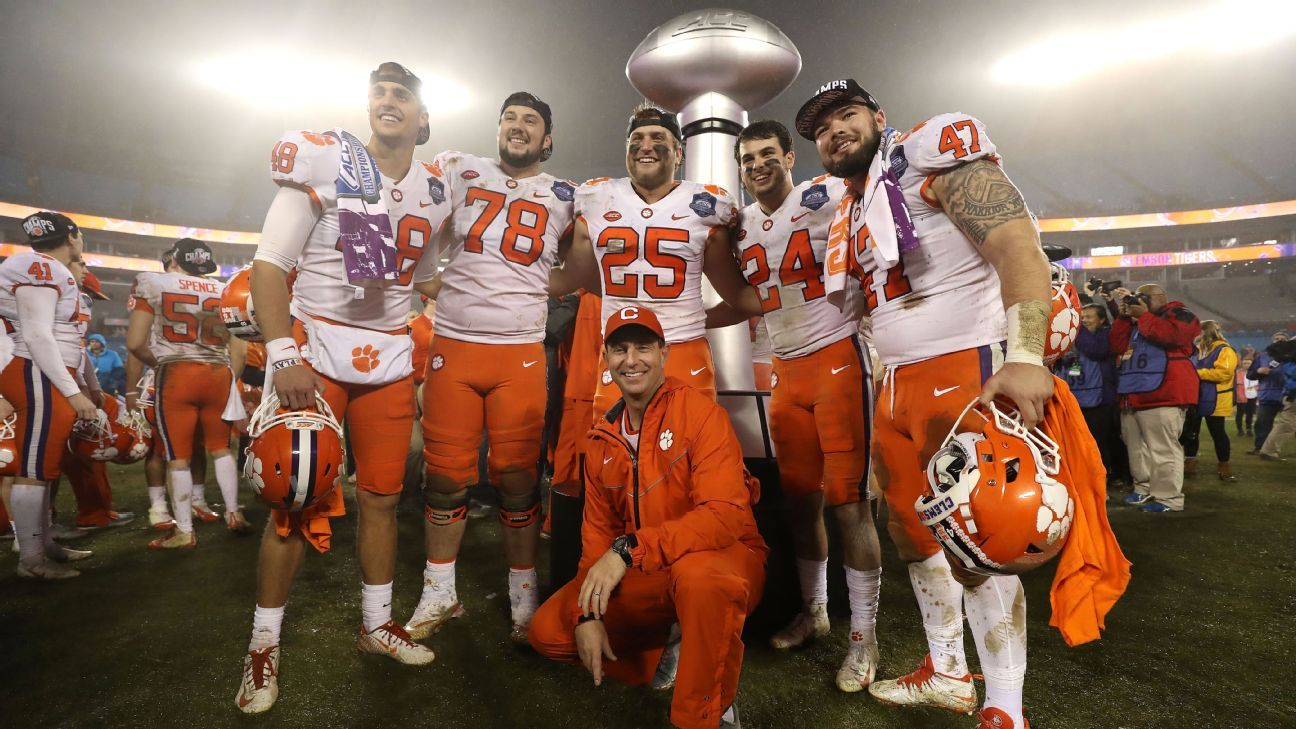 Clemson Football Roster How It Was Built In Recruiting