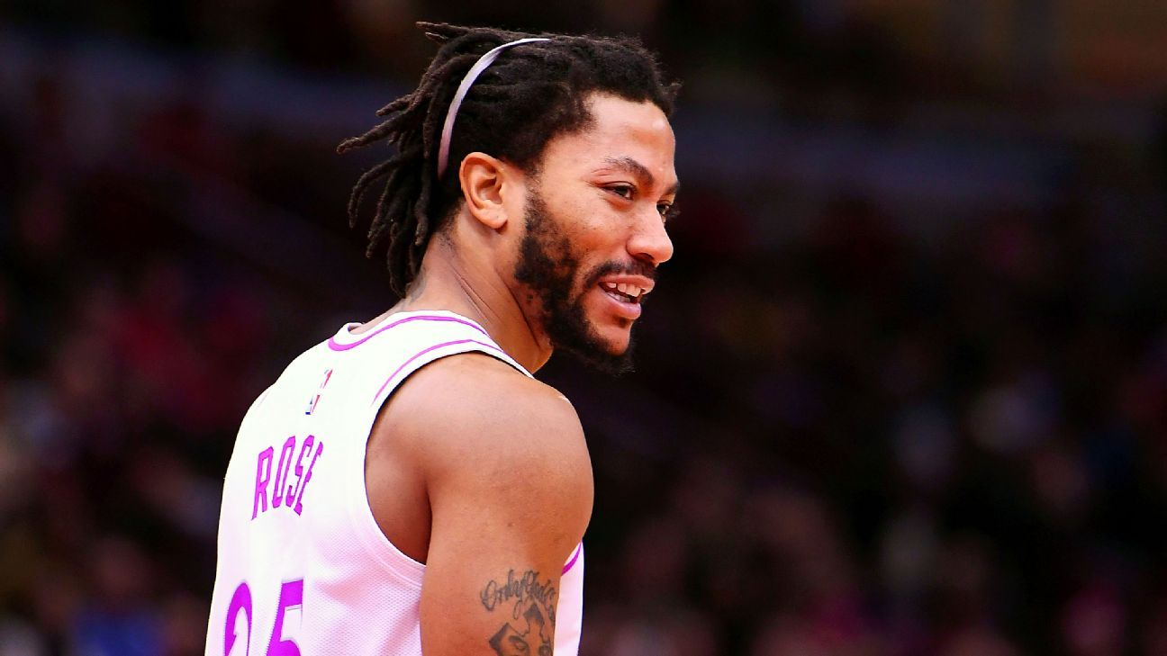 81c100b99ebc Derrick Rose of Minnesota Timberwolves sprains ankle in loss