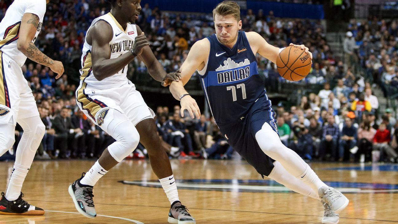 6079ae14ab6 Luka Doncic, Dallas Mavericks amazed at LeBron James comparisons
