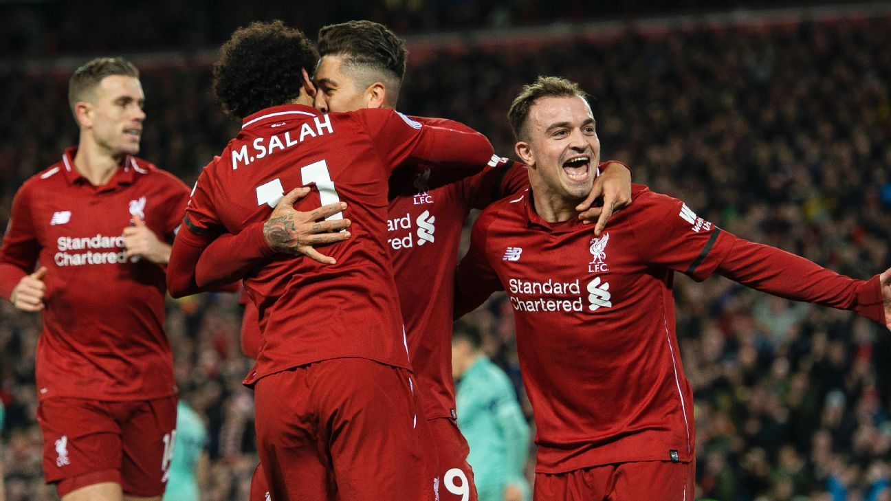 Liverpool's Klopp: Salah Handing Penalty To Firmino Among