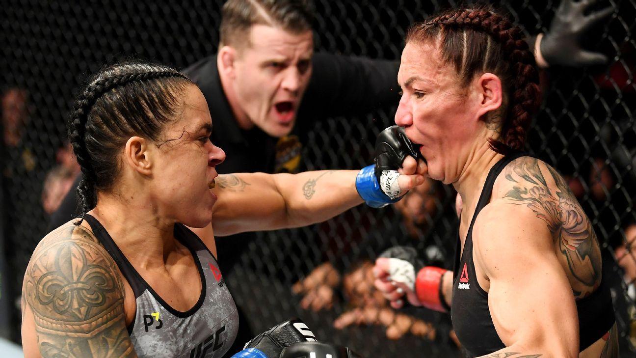 Amanda Nunes knocks out Cris Cyborg featherweight title UFC 232