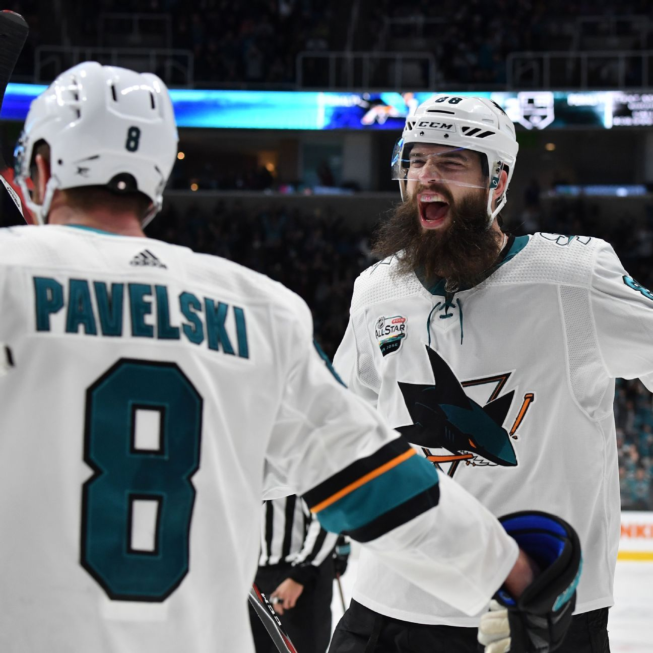 super popular ca6df 220a7 Joe Pavelski, Brent Burns, Erik Karlsson to represent host ...