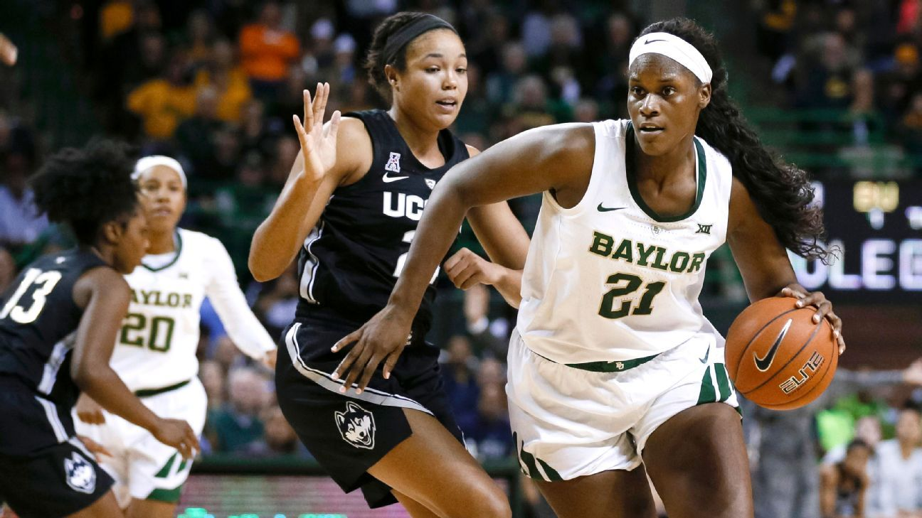 Baylor's Kalani Brown espnW's basketball player of the week