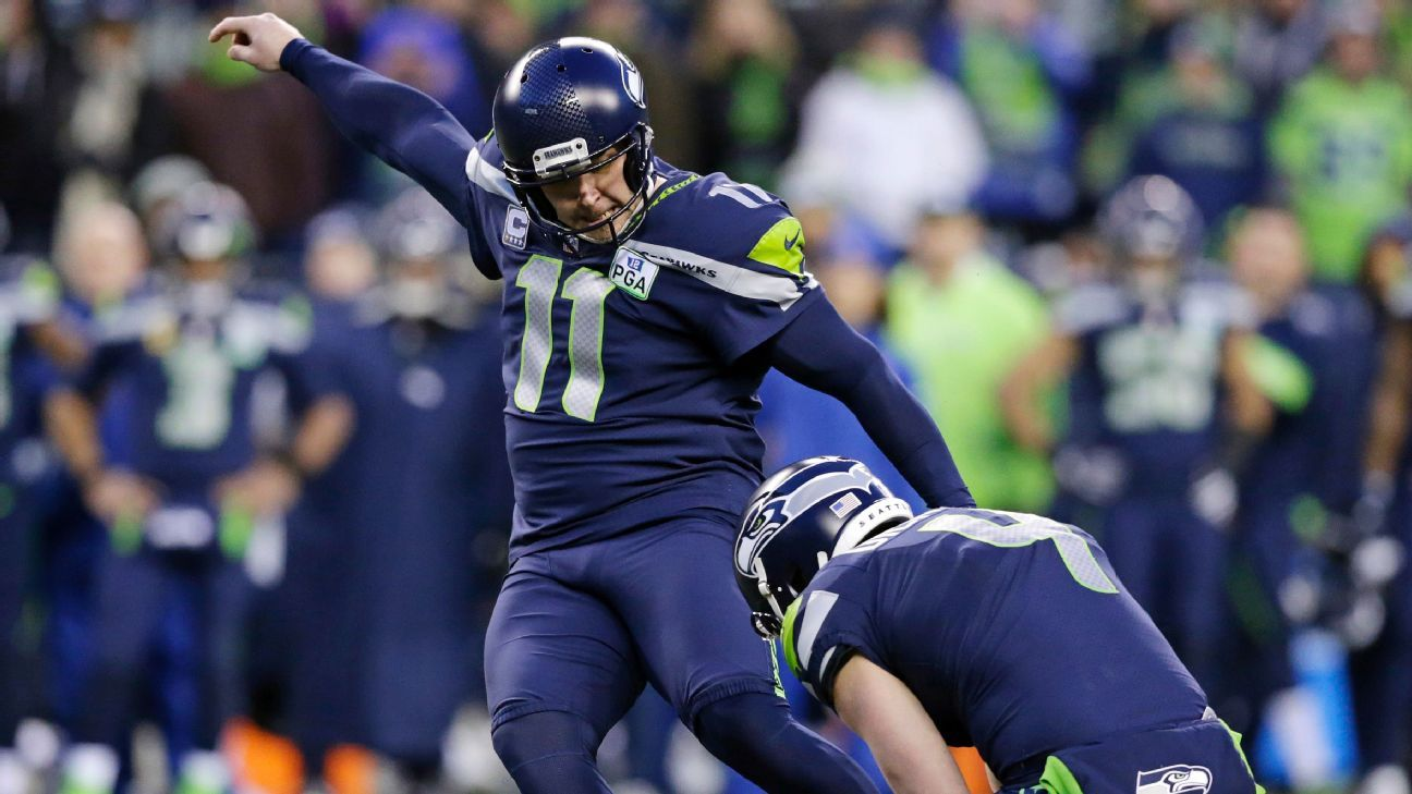 68352962 Sebastian Janikowski of Seattle Seahawks ruled out for game with thigh  injury