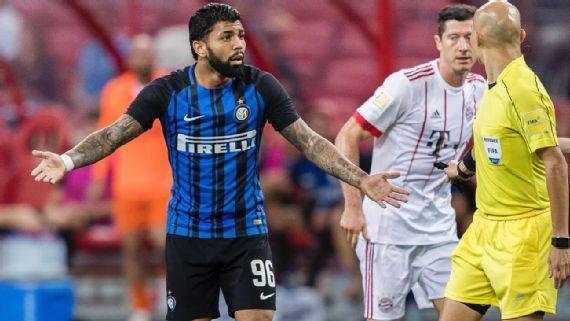 Hoje no Flamengo, dupla não conseguiu brilhar por Inter de Milão e Fiorentina