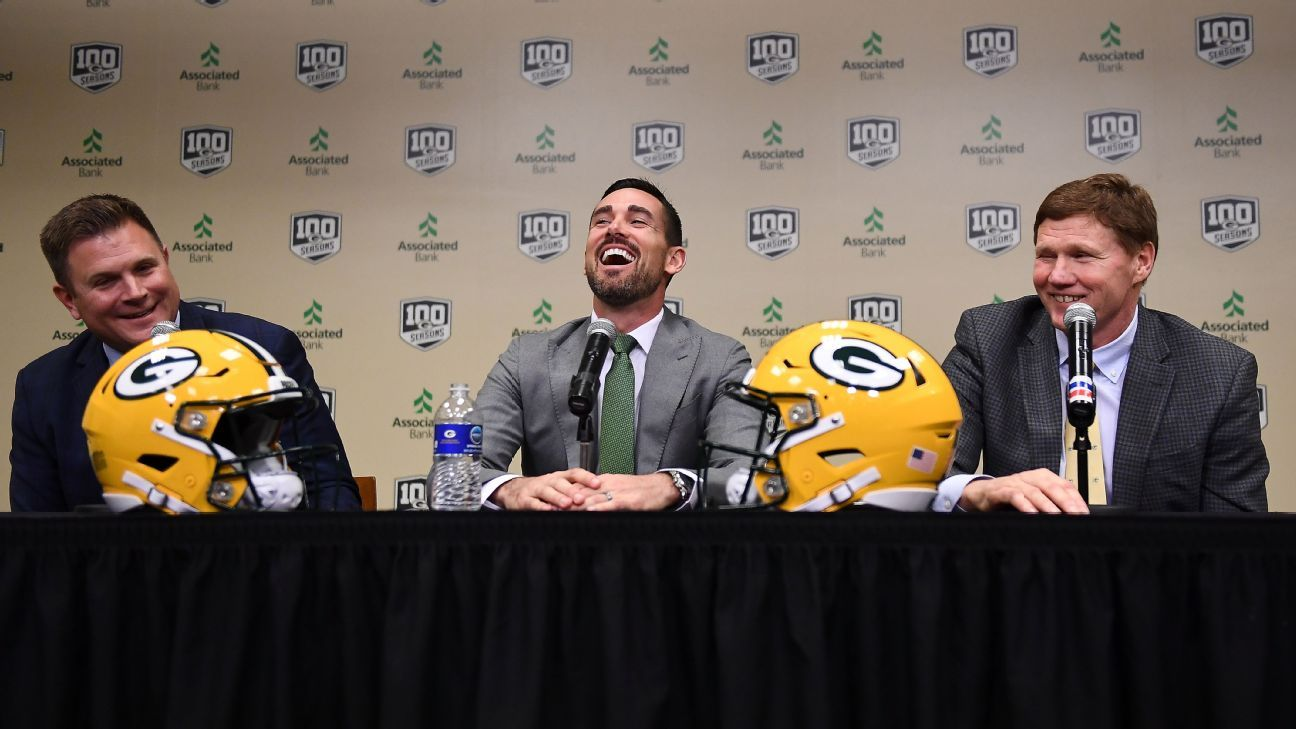 New Packers coach Matt LaFleur said Wednesday he will lean on his experience as Matt Ryan's former quarterbacks coach in Atlanta as he develops a relationship with Aaron Rodgers and looks to revive the former Super Bowl champion's MVP form.