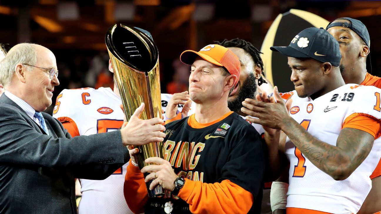 Those who can change the College Football Playoff format, the Power 5 commissioners, still think four is the right number, but recent discussions have at least opened them up to the possibility of change.