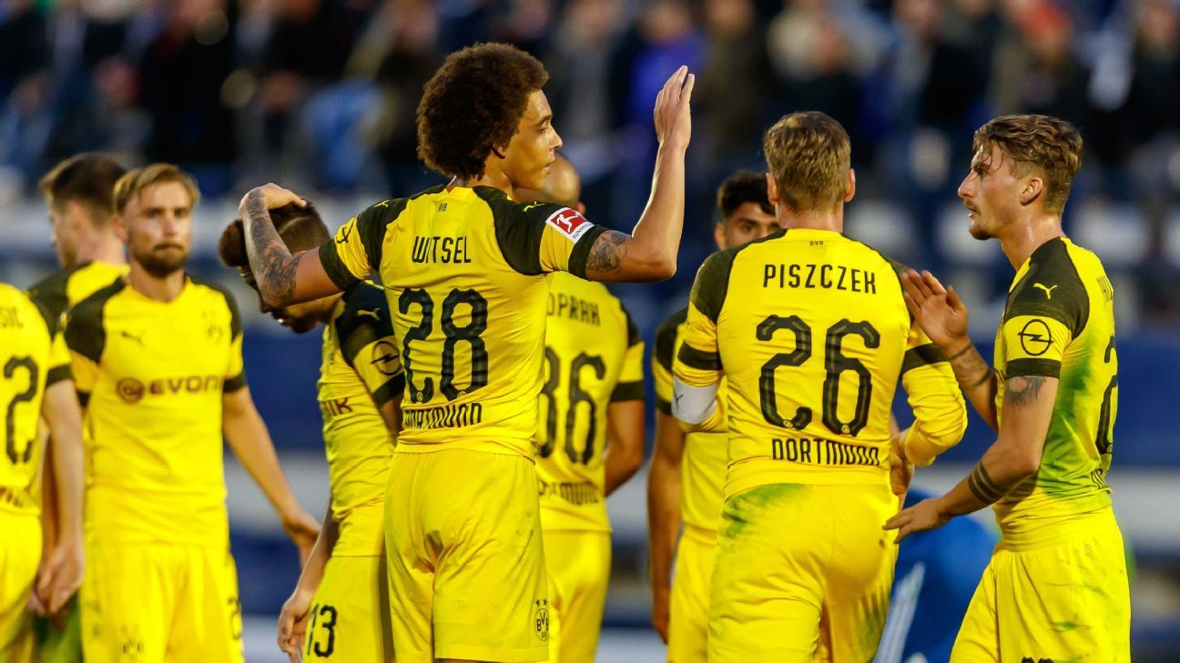 Borussia Dortmund stopped spending and started scouting. Now they're top of the Bundesliga