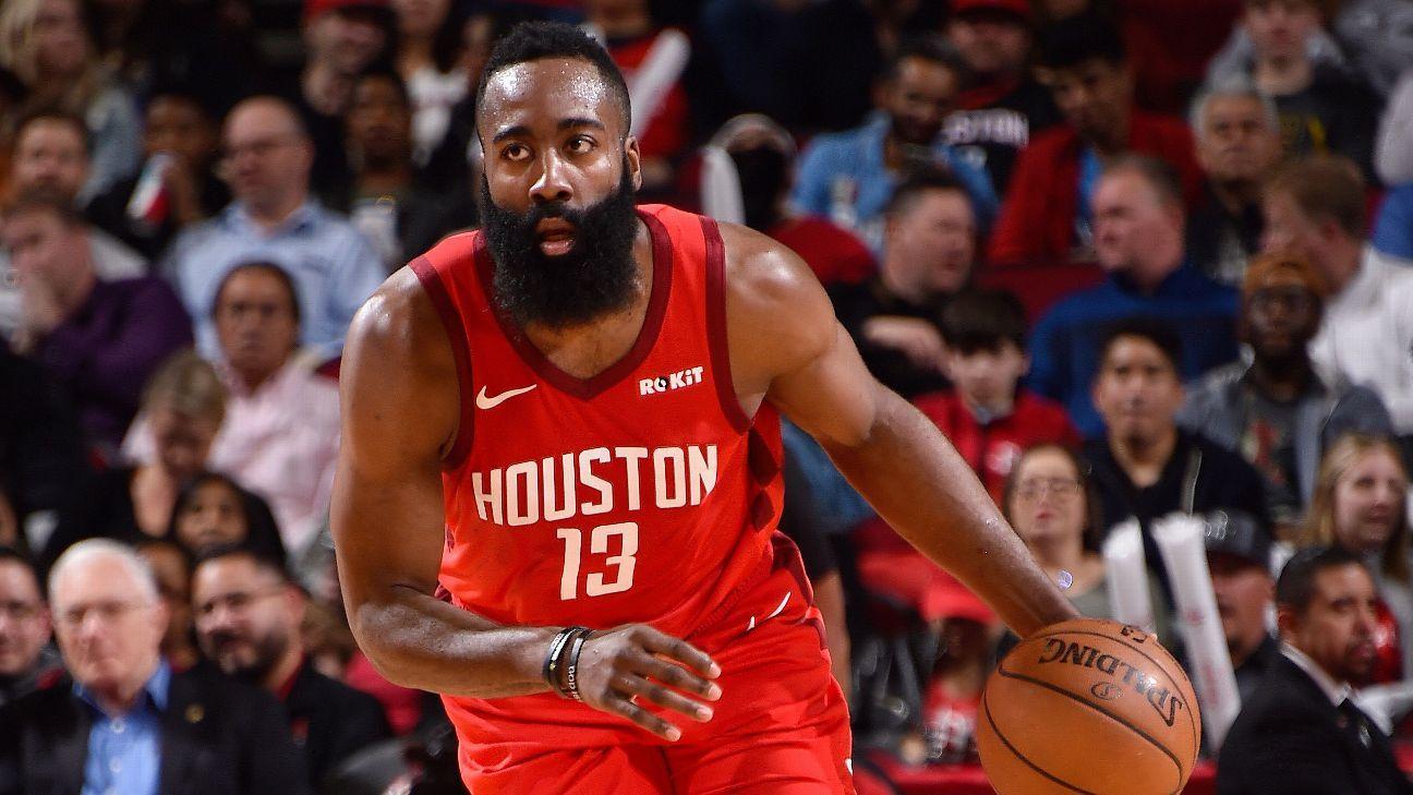 7e32d7ade79e Houston Rockets  James Harden gets key defensive stop as scoring streak  continues