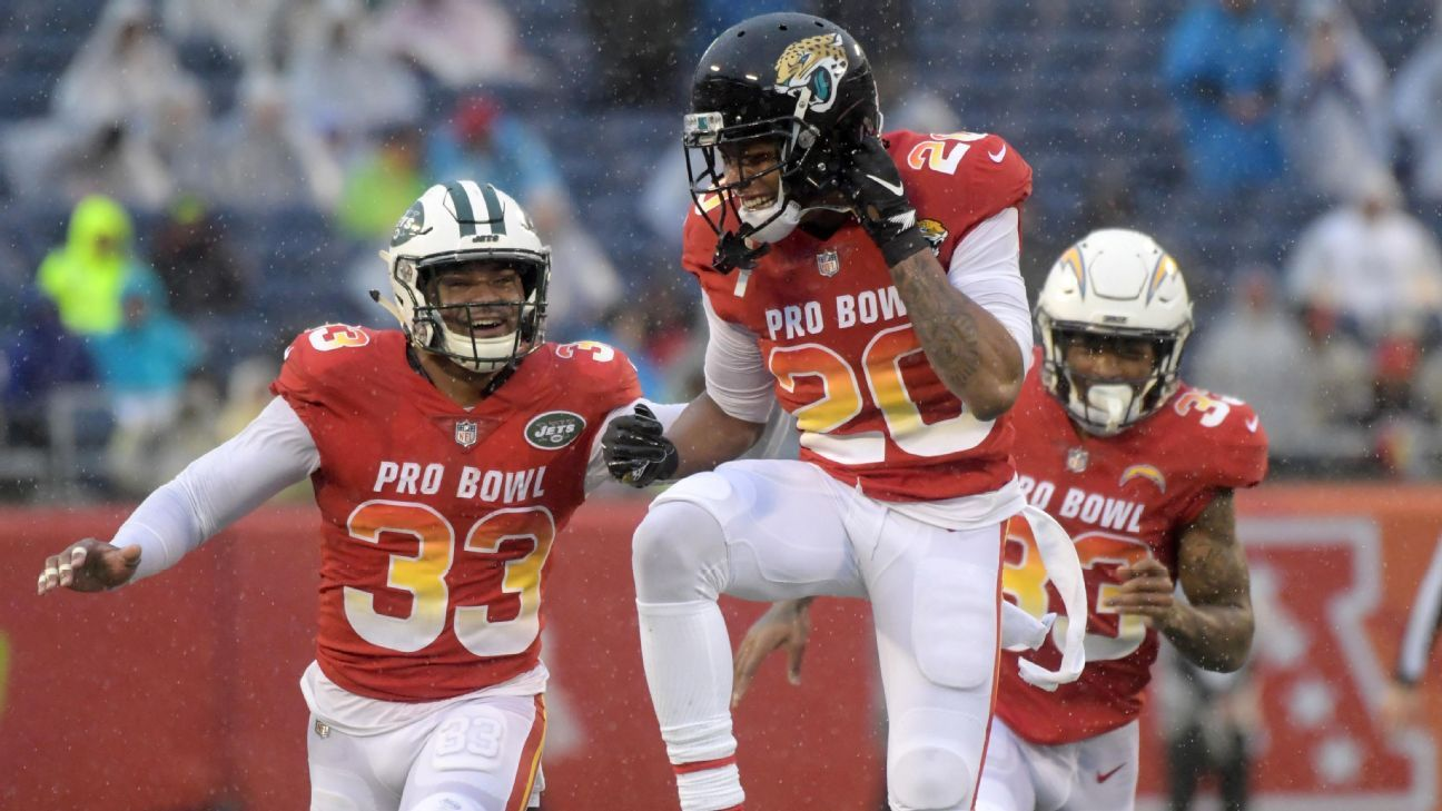 Saquon Barkley on defense? Three laterals after an interception? Jalen Ramsey catching a TD? Inside a wacky day at a very wet Pro Bowl in Orlando.