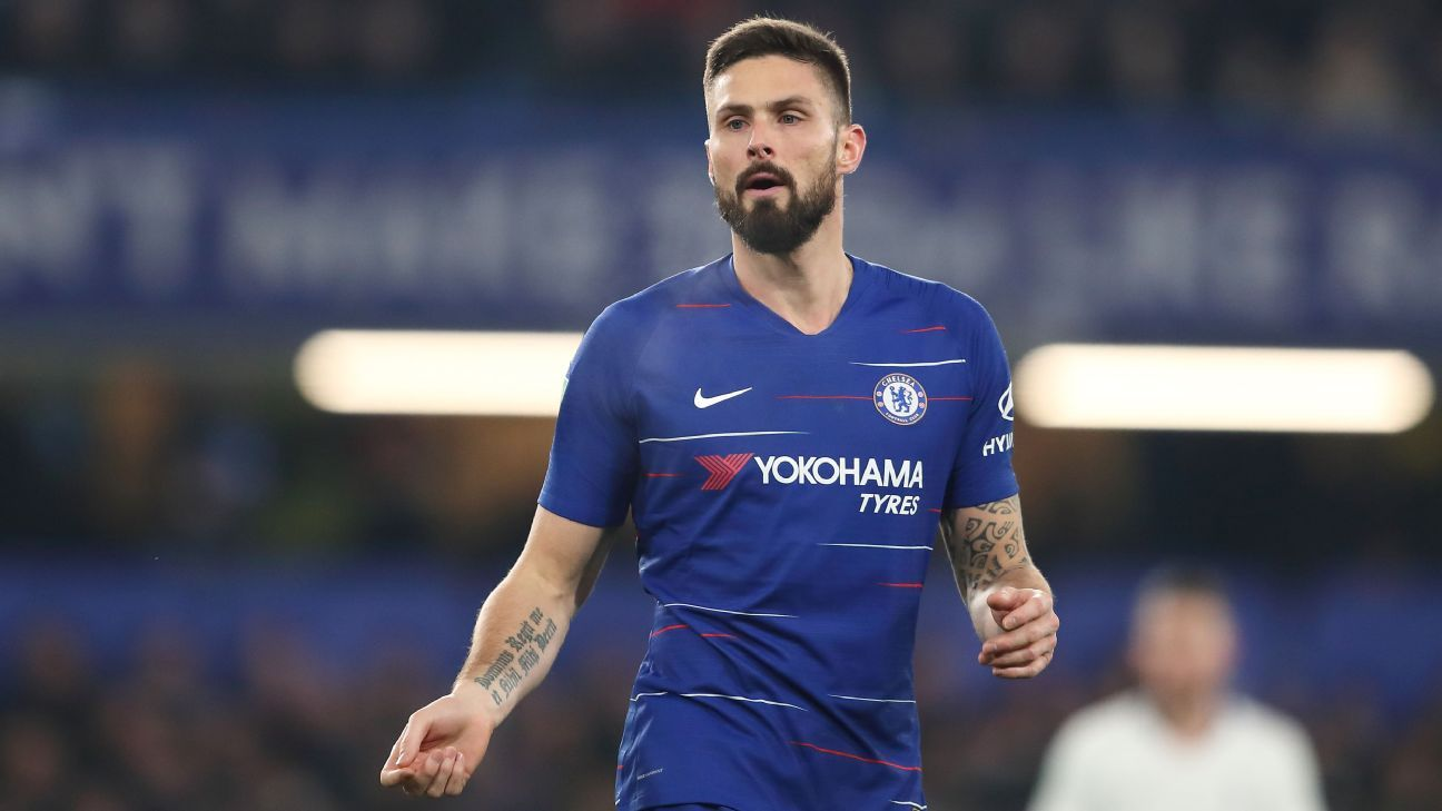 Giroud wants 'important role' at Chelsea, won't be second choice