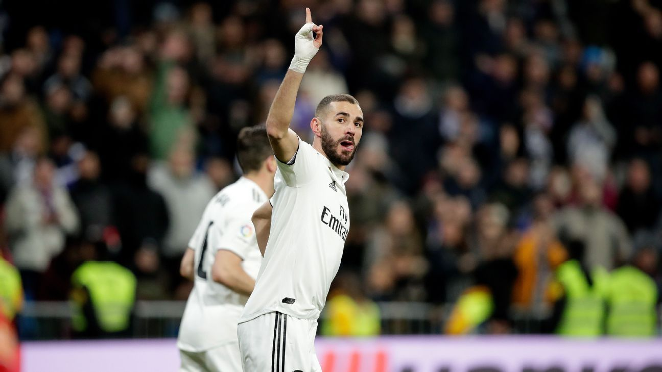 Karim Benzema on target as Real Madrid easily account for Alaves