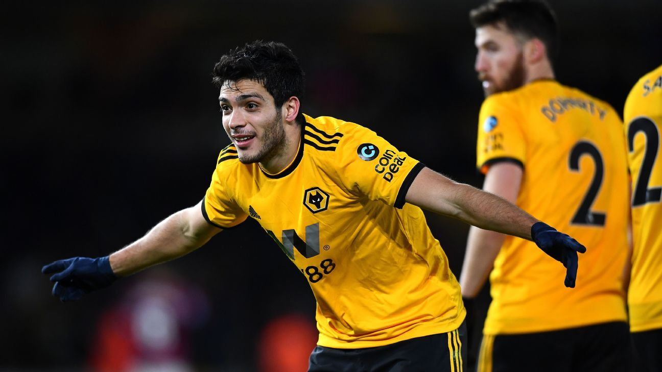 b54405c1e70 Mexicans abroad  Raul Jimenez s three-goal week for Wolves earns him  Europeo of the Week