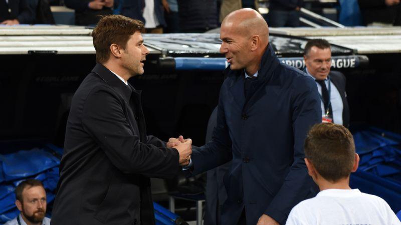 Pochettino - Dinner with Beckham, Zidane a 'coincidence'