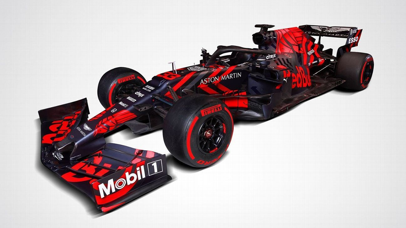 Red Bull launches Honda-powered RB15 in striking one-off livery