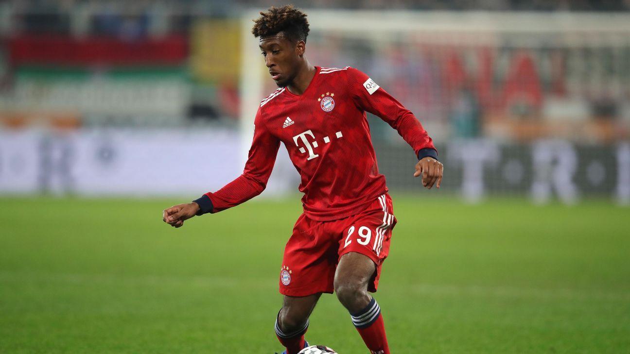 Transfer Talk: Man City to get Coman if Bayern Munich secure Sane
