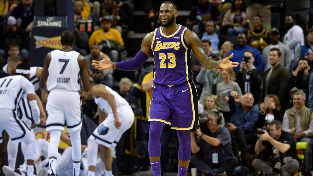 on sale 1186c 55d49 LeBron James says Lakers  wrong franchise  for distracted players