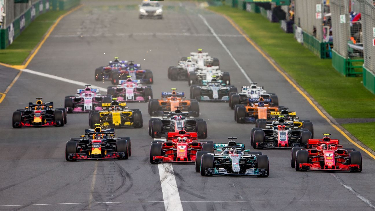 Espn S Tv Schedule For The 2020 F1 Season