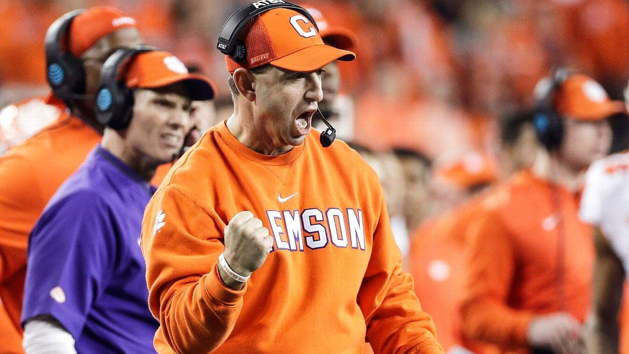 separation shoes 1dccf 215a6 Clemson 2019 spring football preview -- Can you improve on 15-0