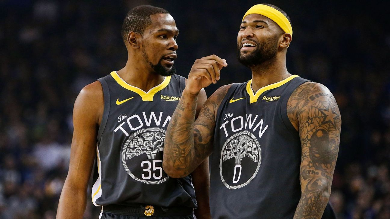 Durant, Cousins unlikely for start of Finals