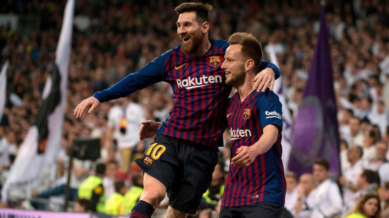 low priced 53f20 bf49f Real Madrid vs. Barcelona - Football Match Report - March 2, 2019 - ESPN