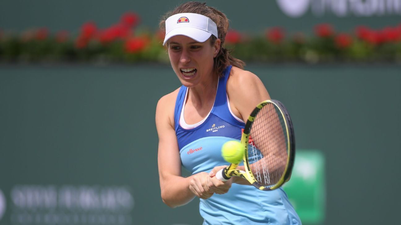 Konta, Anisimova win openers at Indian Wells