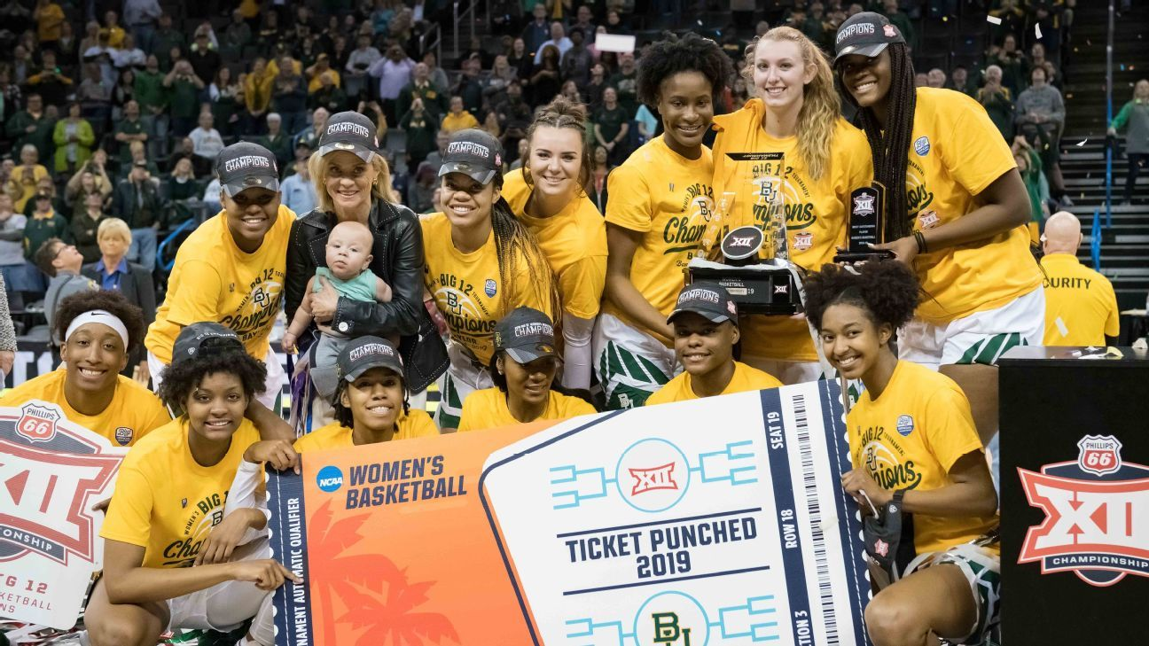 Baylor top seed in NCAA women s tournament 1b29e9badc