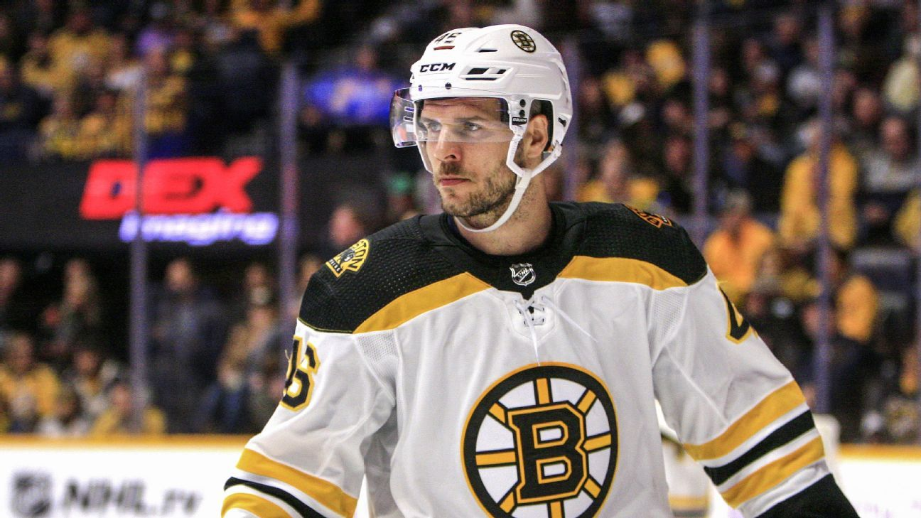 Bruins place David Krejci on injured reserve