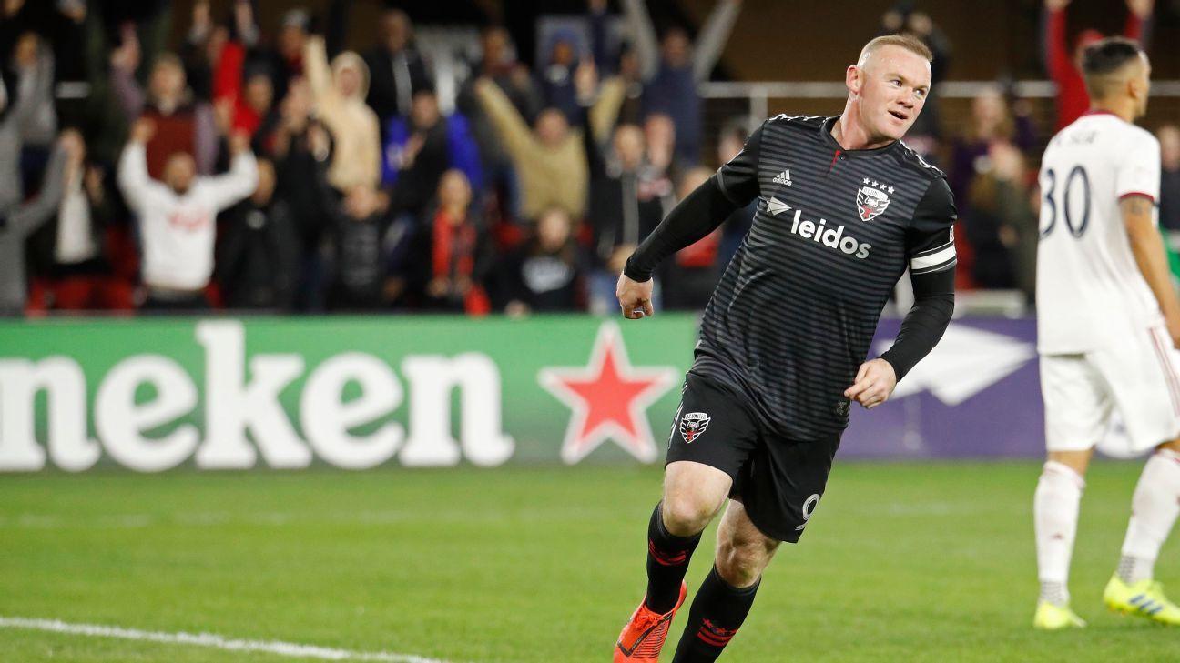 Wayne Rooney's hat trick helps D.C. United rout Real Salt Lake