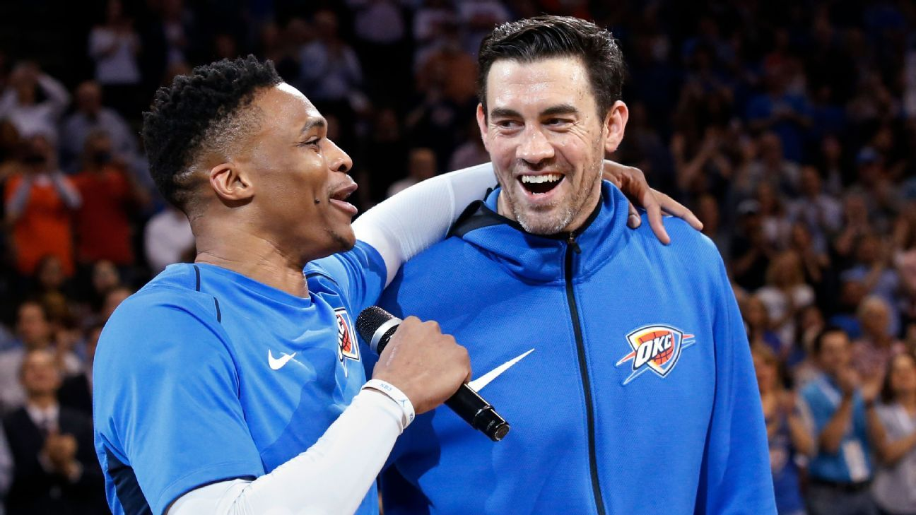 fad489a66b5 Mr. Thunder' on having OKC's first retired jersey and why KD should ...