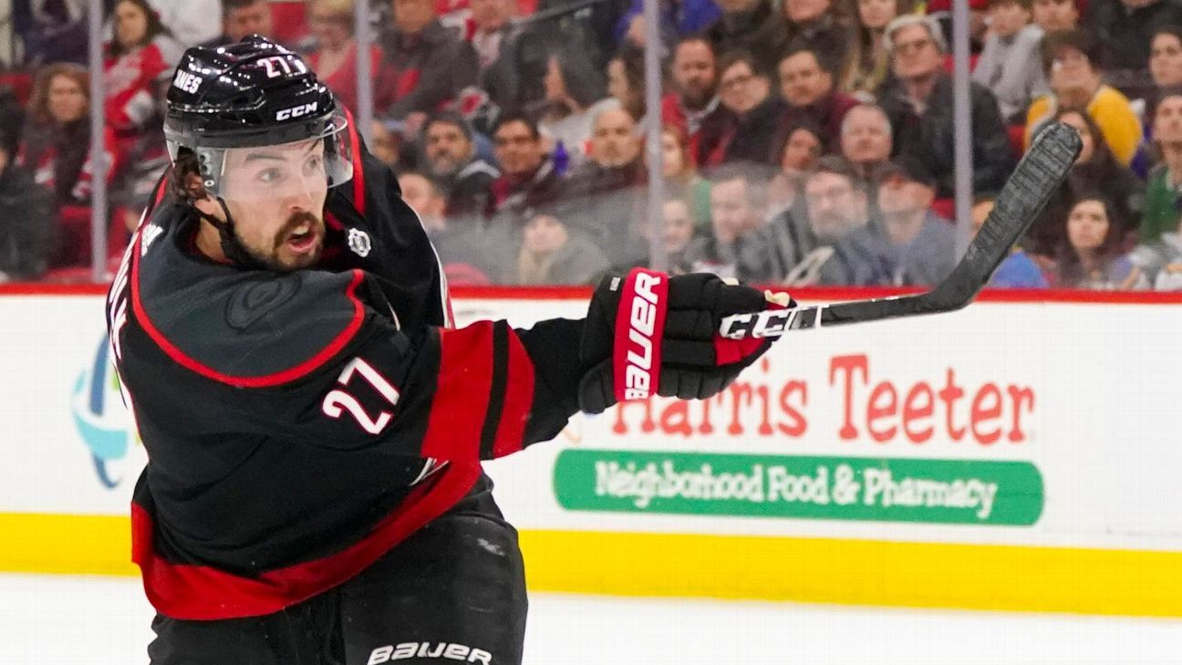 a6e883dec Justin Faulk s long journey to the NHL playoffs