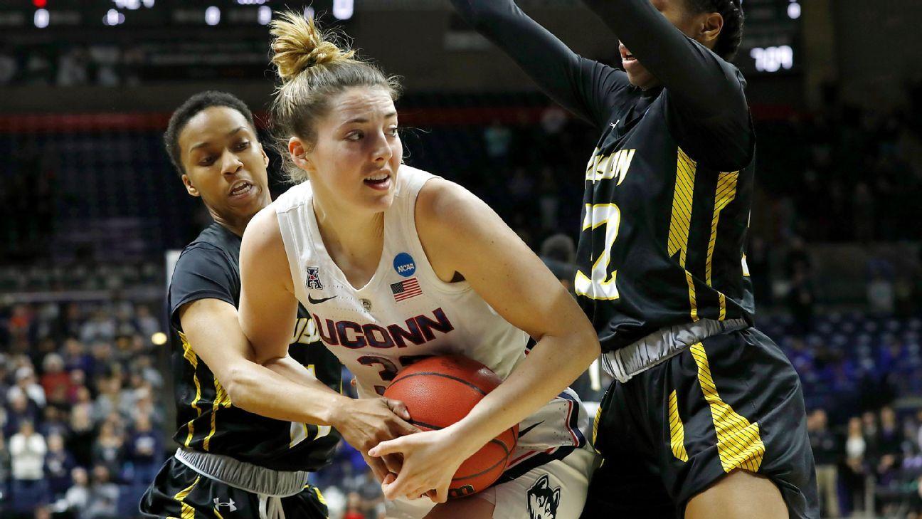 Women's NCAA tournament 2019 -- UConn dominates in Katie ...