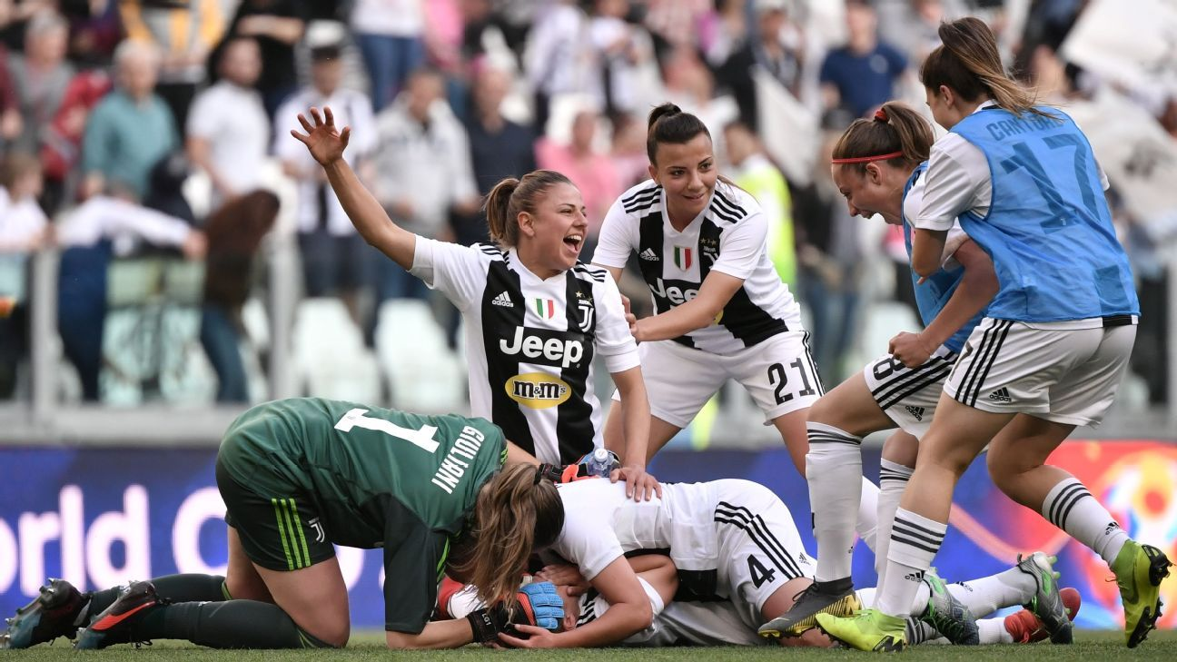 Juventus Women Set New Italian Crowd Record For Top Of Table Clash