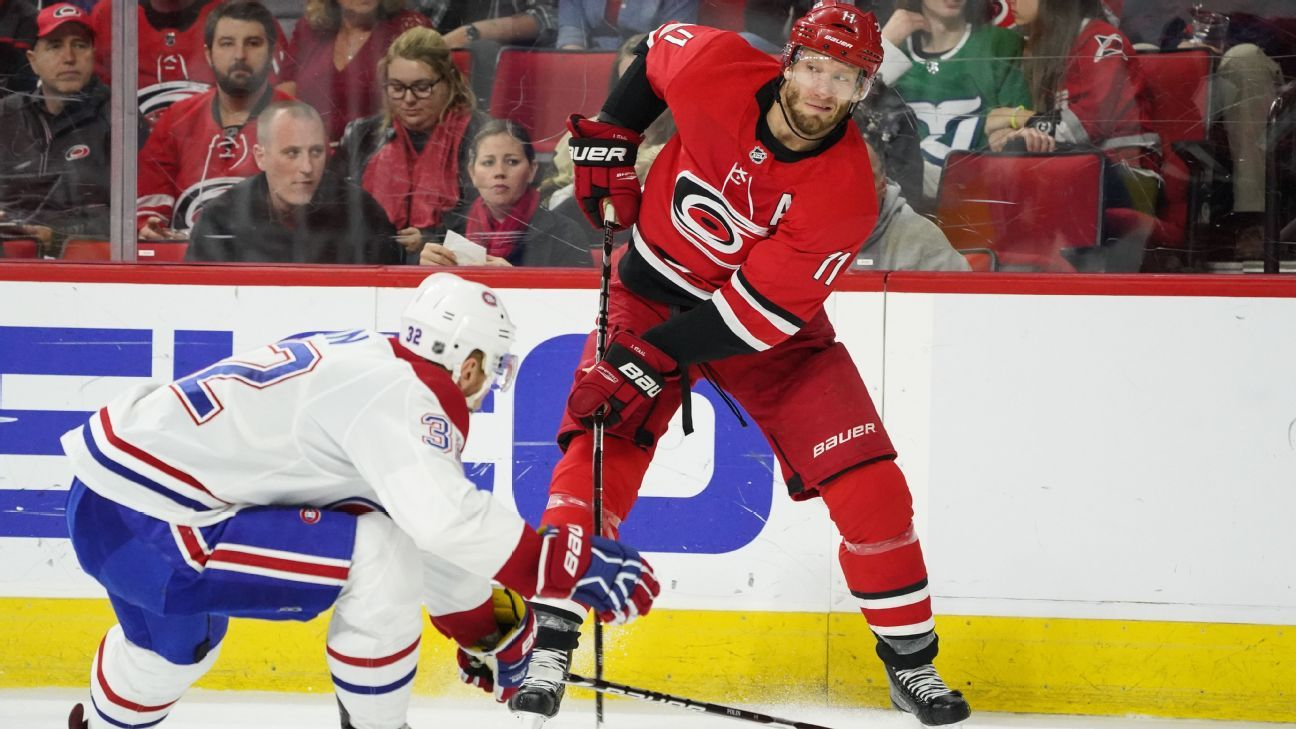Waiver watch: Who to spotlight from the red-hot Hurricanes and Oilers