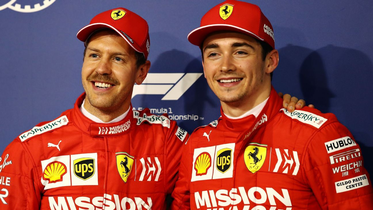 Ferrari says Charles Leclerc free to fight Sebastian Vettel at Bahrain G, but pair must avoid risks