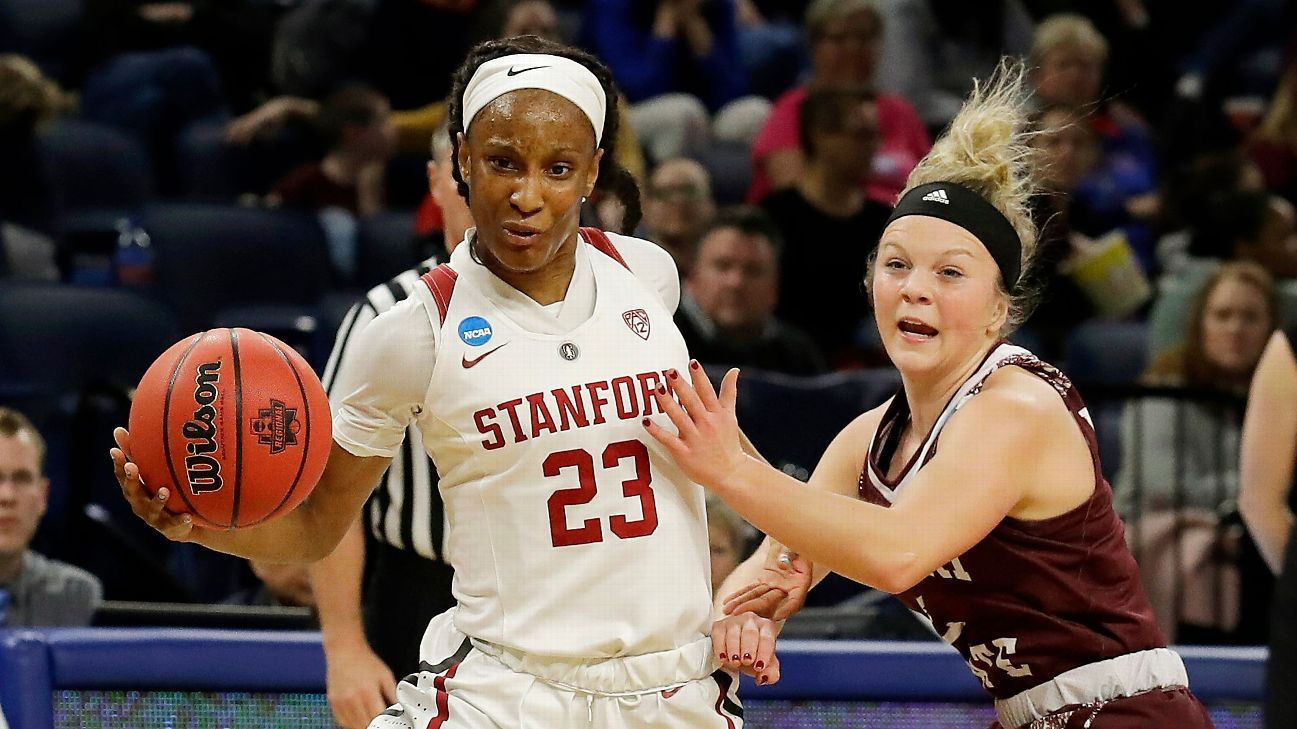Stanford No. 1 in women's poll after Oregon loss