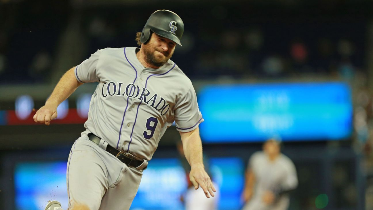 Rockies opt for $6 million buyout to IF Murphy