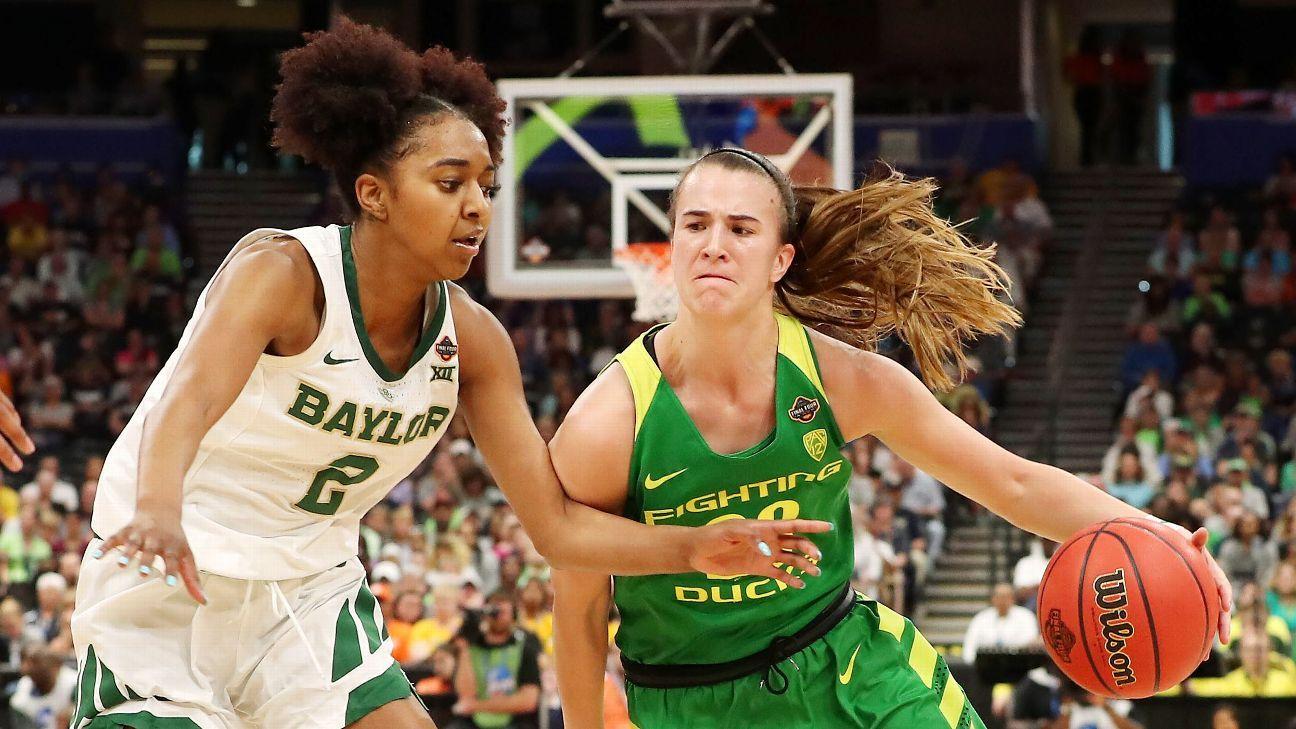 WNBA mock draft: Oregon's Sabrina Ionescu is projected No. 1 pick