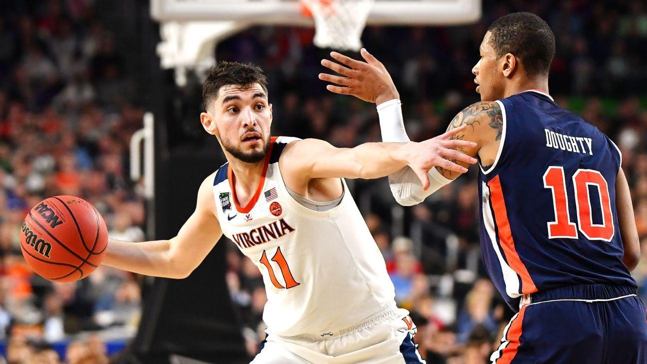 Virginia guard Jerome opting for NBA draft