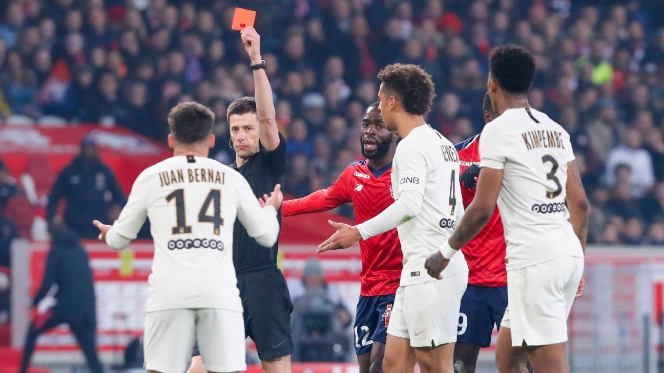 Lille vs. Paris Saint-Germain - Football Match Report - April 14, 2019 -  ESPN