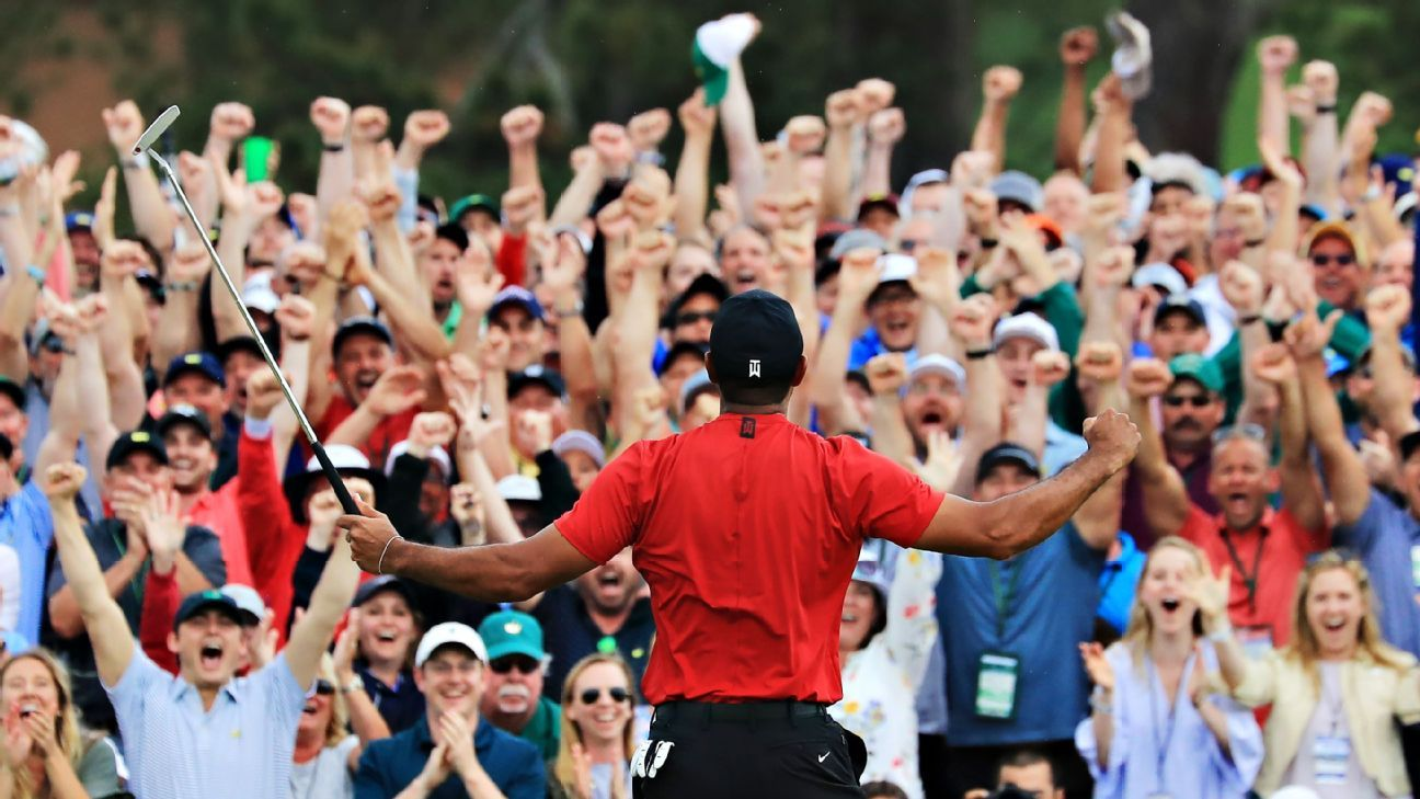 How Tiger made the earth shake again at the Masters